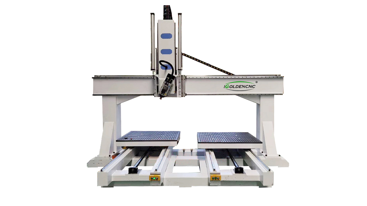 Routeur Cnc ATC Double Table 4 Axis