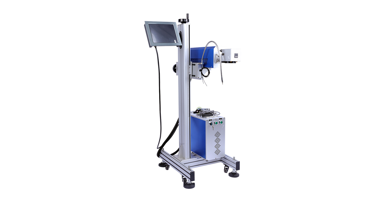 Machine de marquage laser volant